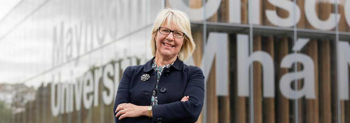 Maynooth University President, Professor Eeva Leinonen