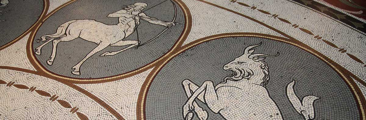Ancient Classics - Mosaic floor at the National Museum - Maynooth University