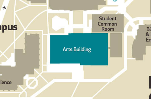 Arts block location - Maynooth University