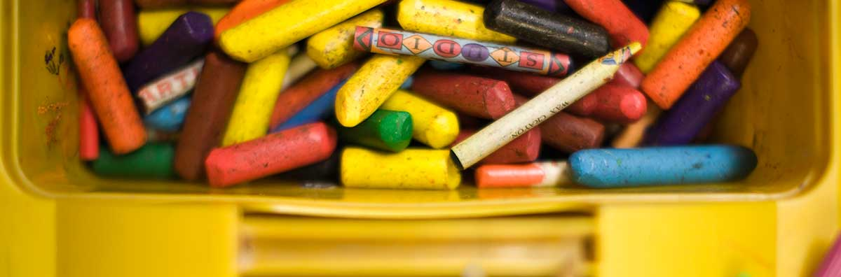 Student Services - Crayons creche carousel 1200 x 200 - Maynooth University