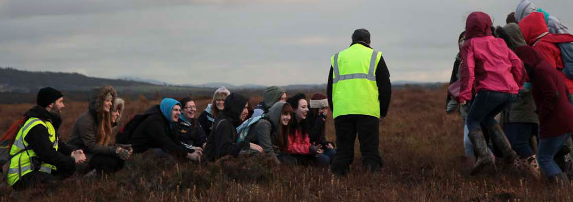 Biology - Crouching for a Better View on Field Trip - Maynooth University