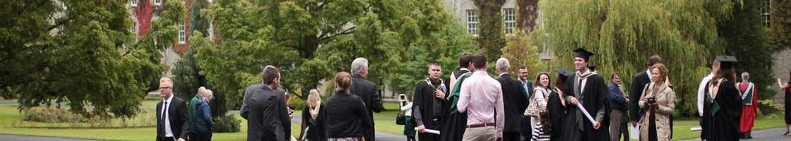 Graduation at St Joe Square - Graduates Gather - Maynooth University