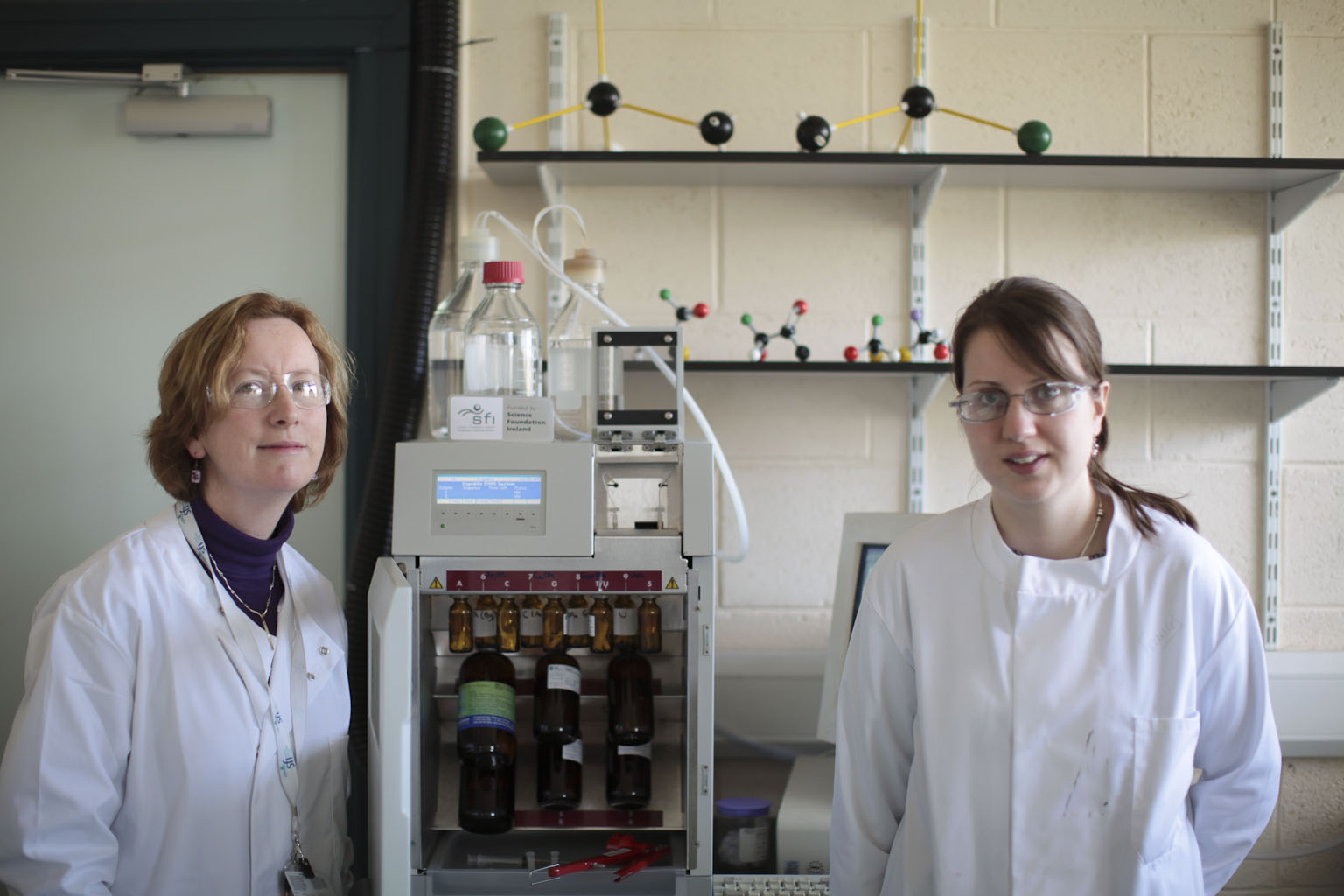 Chemistry at Maynooth University - 2 Lecturers in Lab - Maynooth University