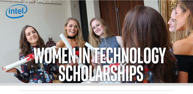 Women in Tech Intel Scholarship 2018