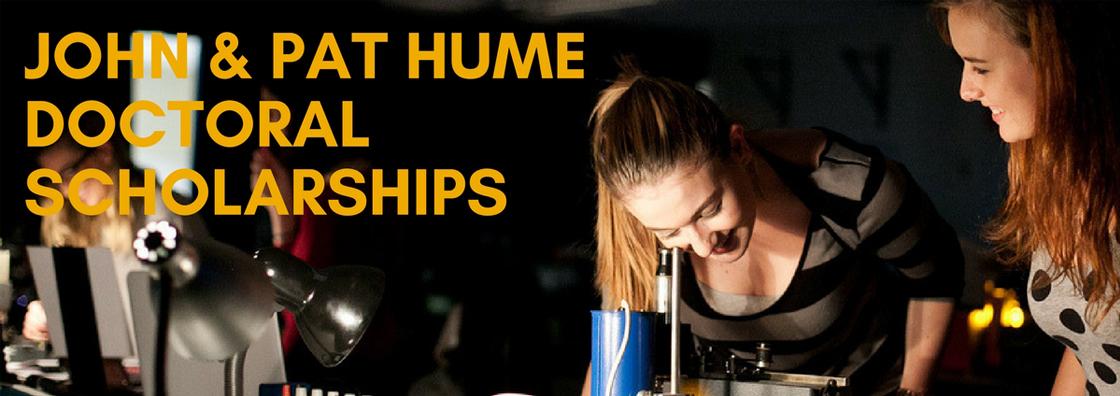 John Hume Scholarships