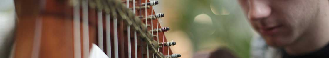 Music - Boy with Harp - Maynooth University