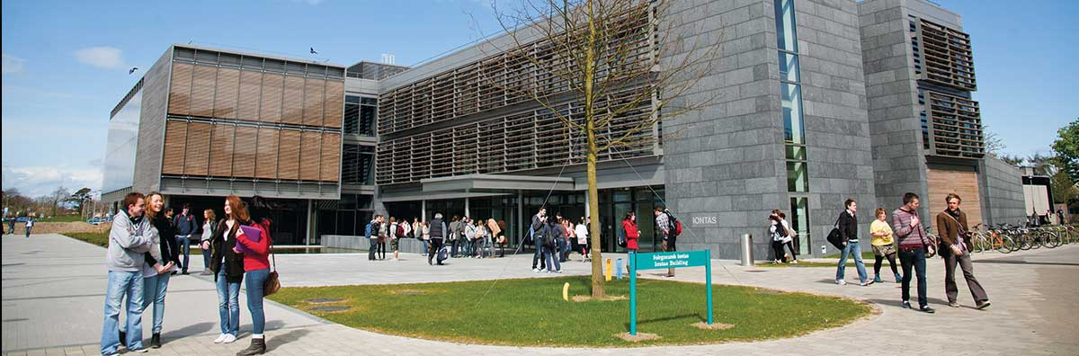 Postgraduate - Students Outside Iontas - Maynooth University