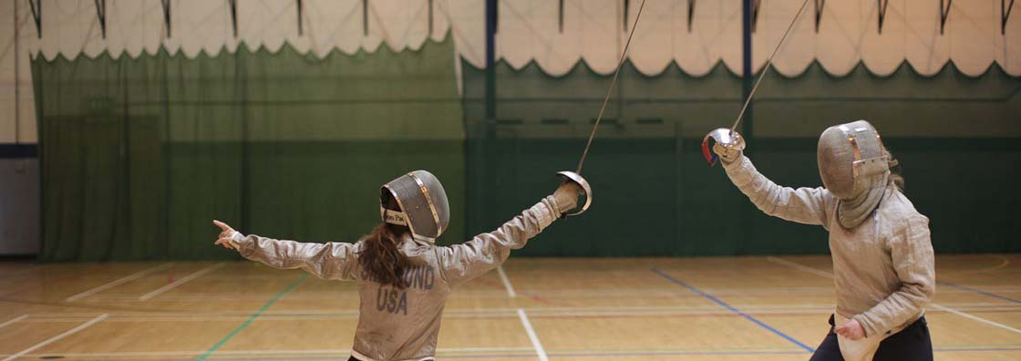 Sports - Fencing - Maynooth University