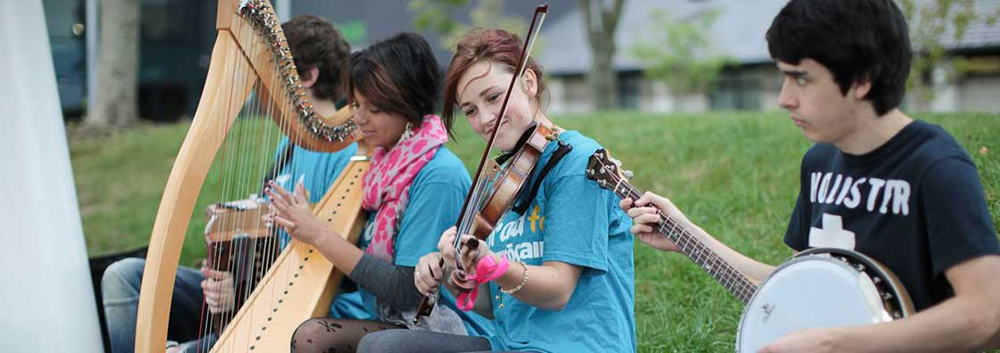 Student Services - Traditional Musicians - Maynooth-University
