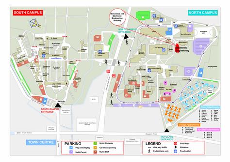 North Campus Map - Maynooth University