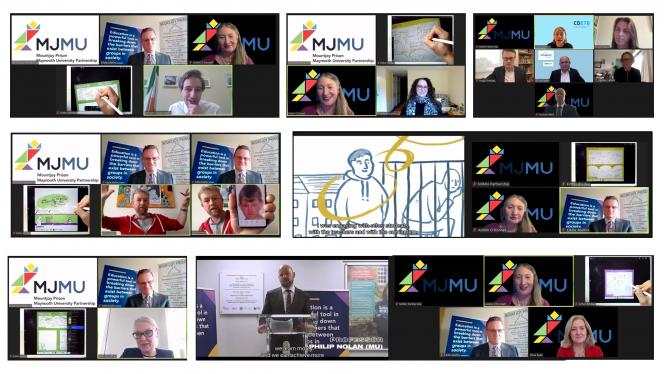 MJMU Launch Event Screen Captures
