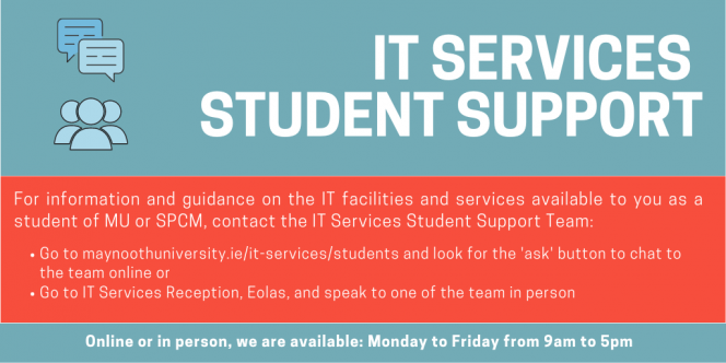 IT Services Student Support Team