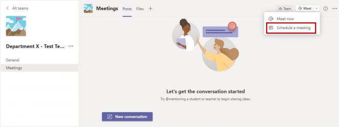 Teams_recurring channel meetings