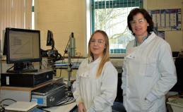 Dr Eithne Dempsey and Grace Halpin