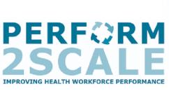 Perform2Scale : Improving Health Workforce Performance.  Logo