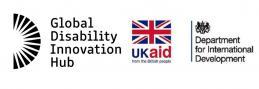 Global Development Innovation Hub and Department for International Development Logos