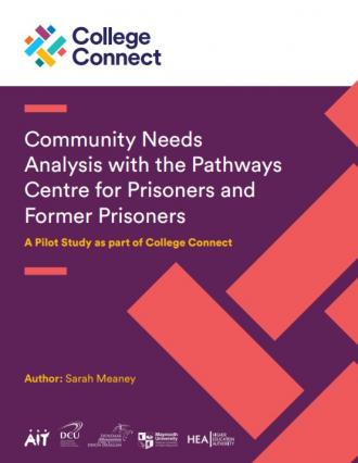 College Connect Community Needs Analysis Report Cover