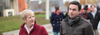 Adult Education - Mature Students Walking - Maynooth University
