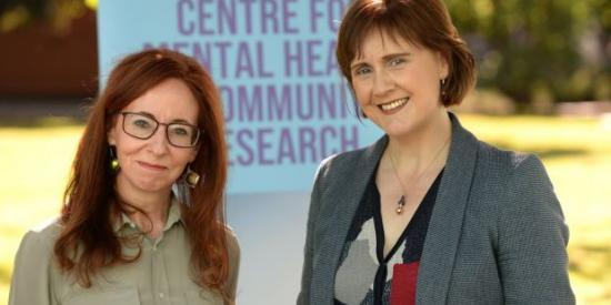 Christine Mulligan and Prof Sinead McGilloway