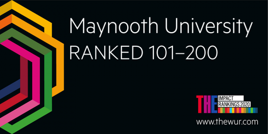 Maynooth University ranked 101-200 in THE Global Impact Ranking