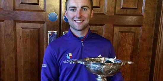 Golf - Declan Loftus Intervarsity Golf Champion - Maynooth University
