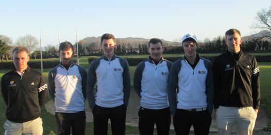 Golf - Maynooth (b) team