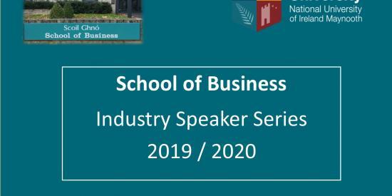 Industry Speaker Series 2019/2020