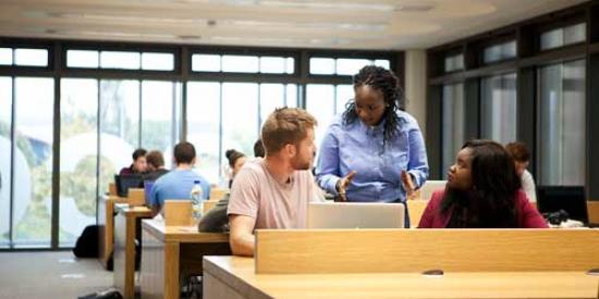 Communications & Marketing - Library students 2 - Maynooth University
