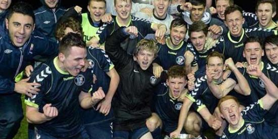 Soccer - Collingwood Cup winners - Maynooth University