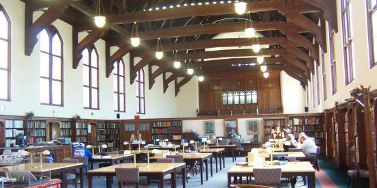 Photo of Reading Room, Baldwin Library