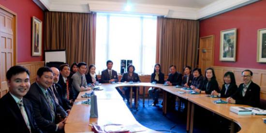 Srinakharinwirot-University-delegation