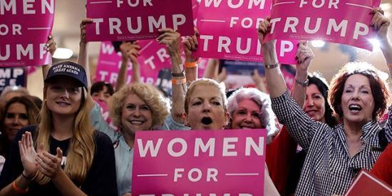 Women Trump Supporters Tampa FL - Getty